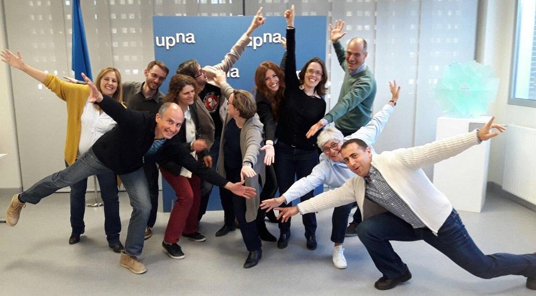 5ème réunion transnationale à Tudela organisée par l'UPNA